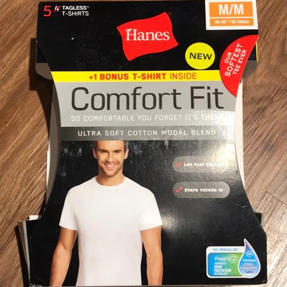 e866147fd04ca6 Hanes Comfort Fit Odor Protection T-Shirt (5)